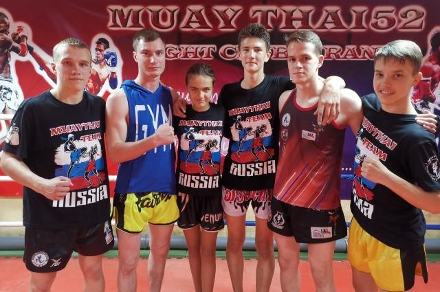В зале тайского бокса Саша Лытова была самой маленькой.