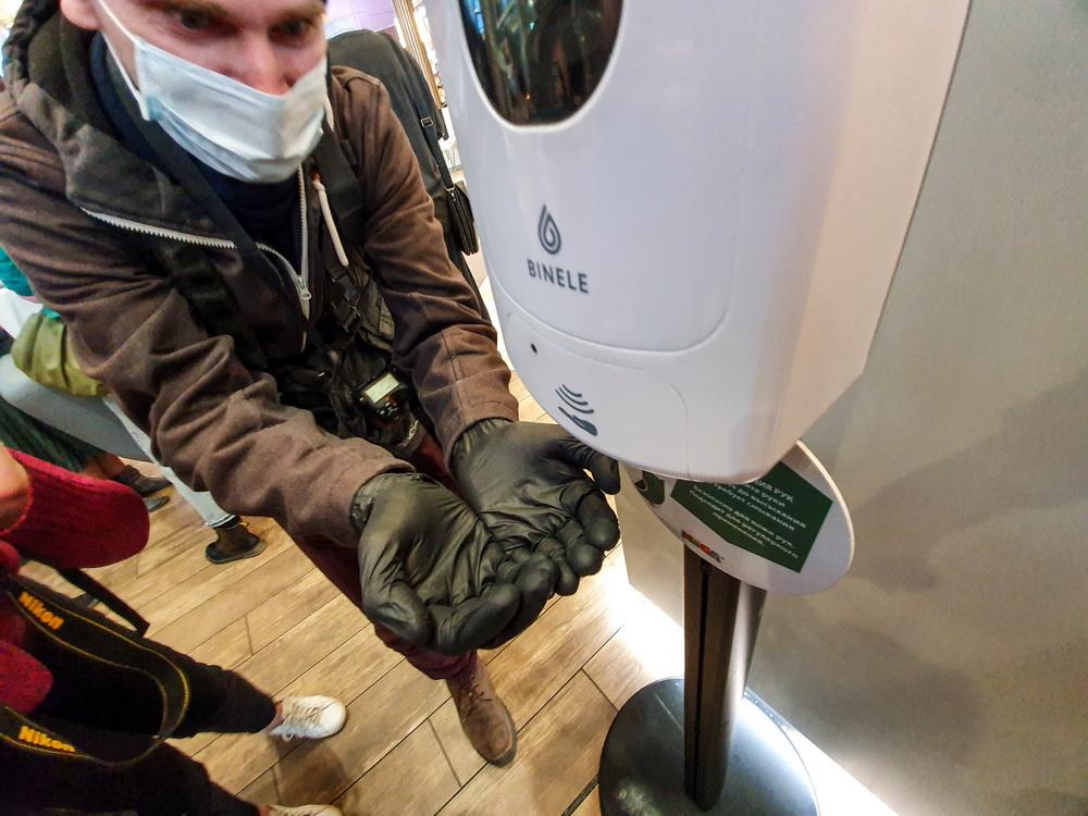 Чистые руки – чистая совесть.