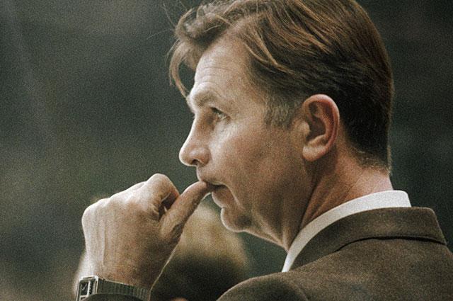 Виктор Тихонов на XIV зимних Олимпийских играх в Сараево. 1984 г.