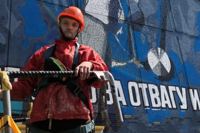 Граффити «Виктория» – самая масштабная работа Никиты Зверева.