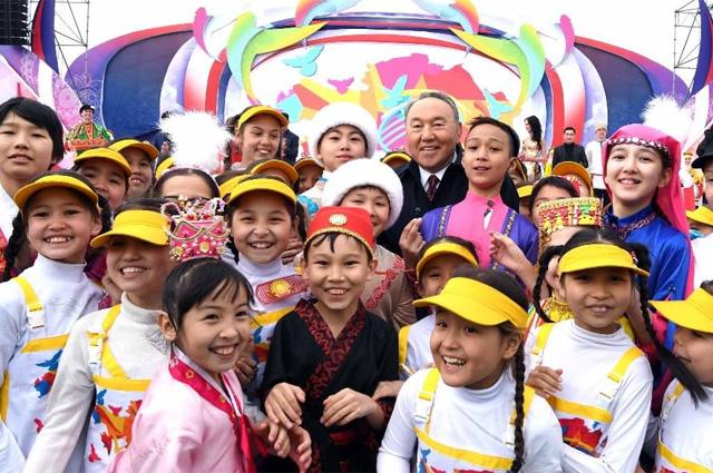 1марта 1995 года вРК начала свою деятельность Ассамблея народа Казахстана.
