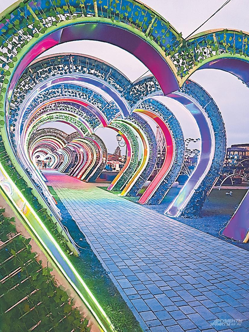 В центре Грозного тысячи цветов. И в таком виде тоже.