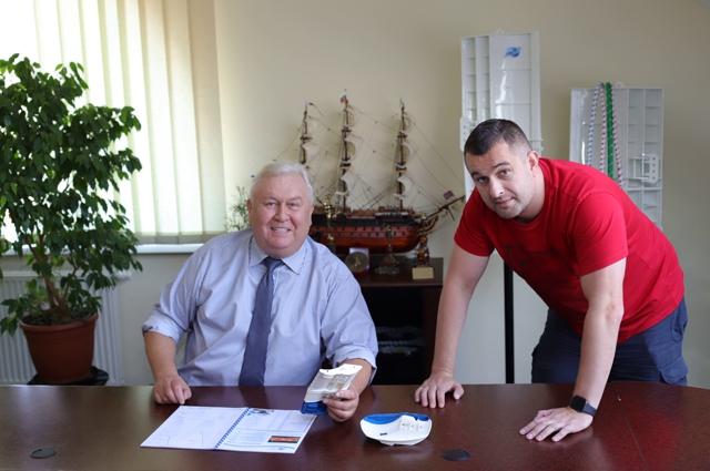 Андрей Фёдоров руководит компанией 28 лет. Многие годы с ним рядом сын Дмитрий.