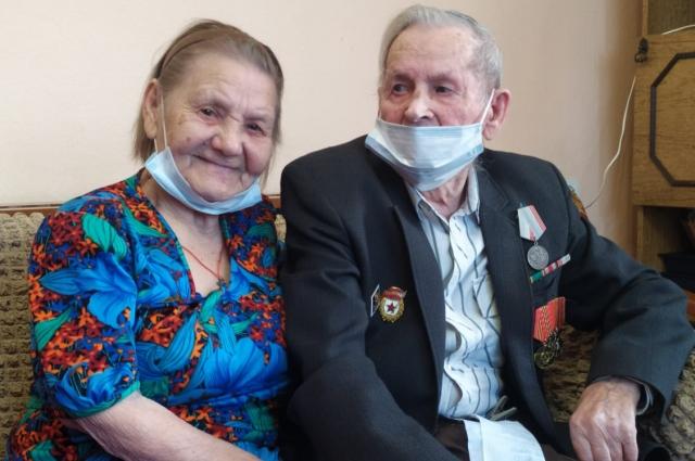 Пётр и Любовь Тереховы.