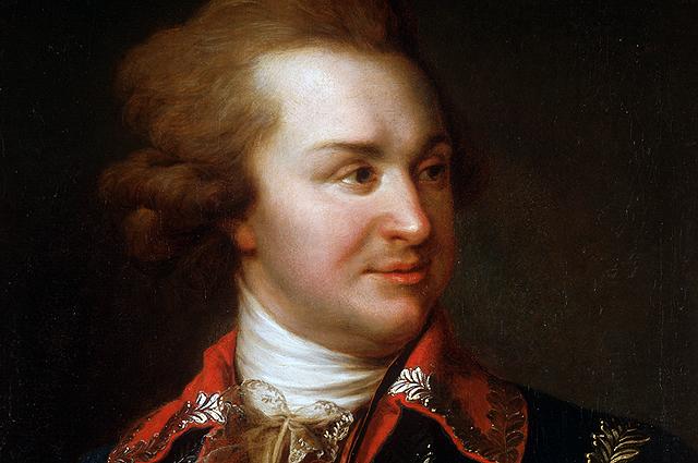 Григорий Потёмкин был моложе императрицы на 10 лет.