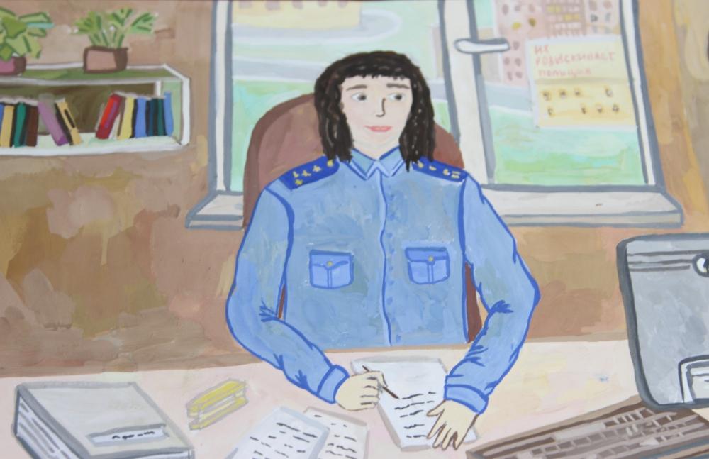 Рисунок Валентины Шляхты.