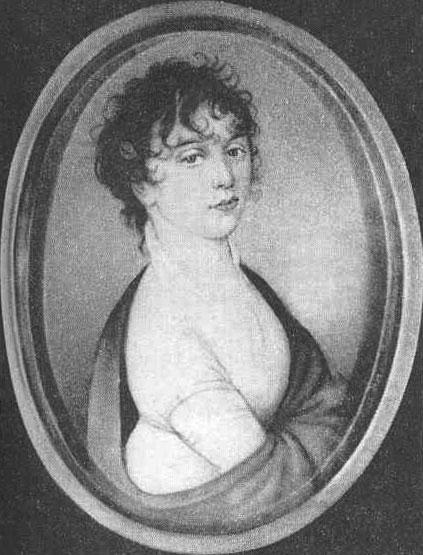 Джульетта Гвиччарди. Именно ей композитор посвятил Лунную сонату. 1824 год