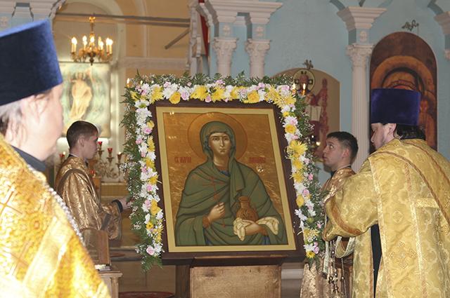 Мария Магдалина в Спасском.
