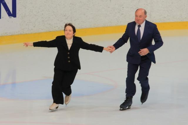 Алексей Мишин и Тамара Москвина.