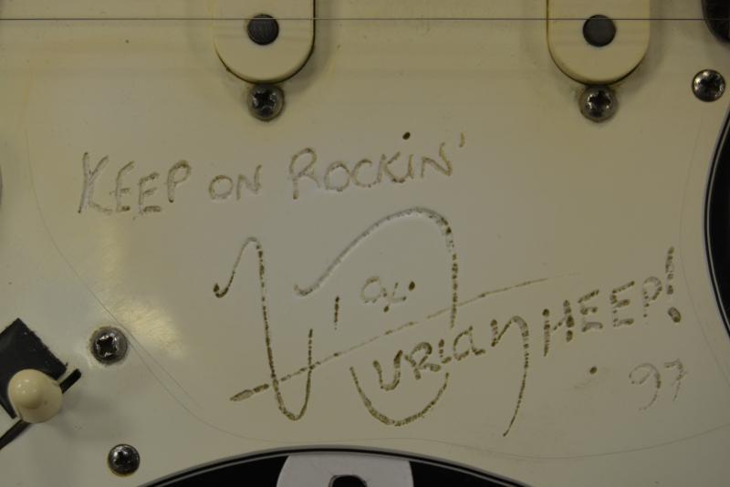 Тот самый автограф.