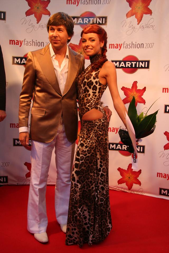 Ирена Понарошку и шоумен Андрей Фомин.