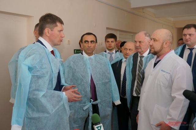 Максим Решетников в кизеловской больнице.