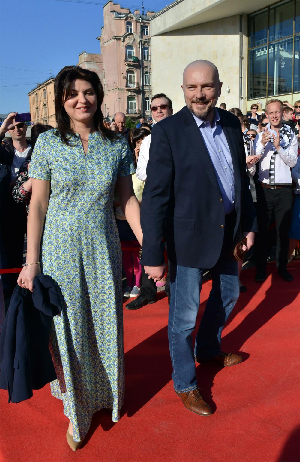 Алексей Нилов с женой Еленой.
