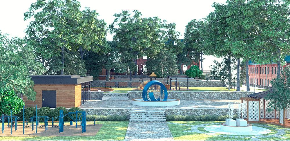 Таким может стать детский парк на Черёмуховой.