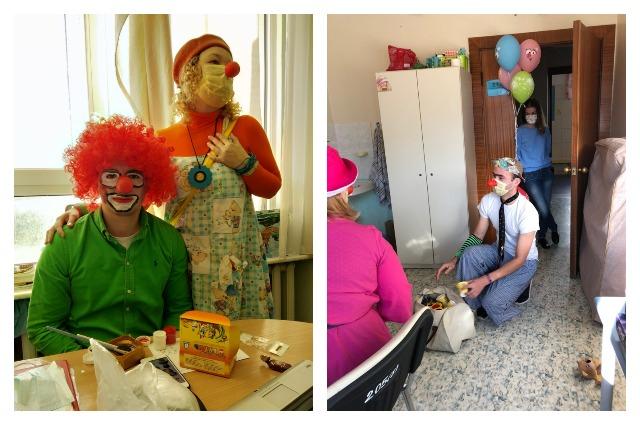 Не всегда пациенты готовы общаться с клоунами.