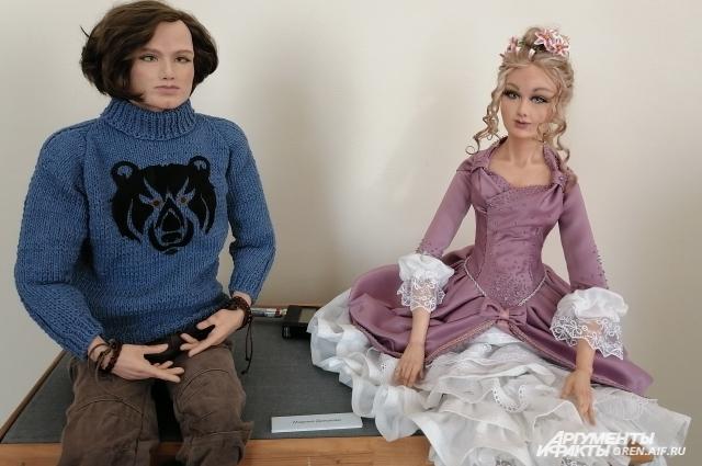 На изготовление одной куклы может уйти несколько месяцев.