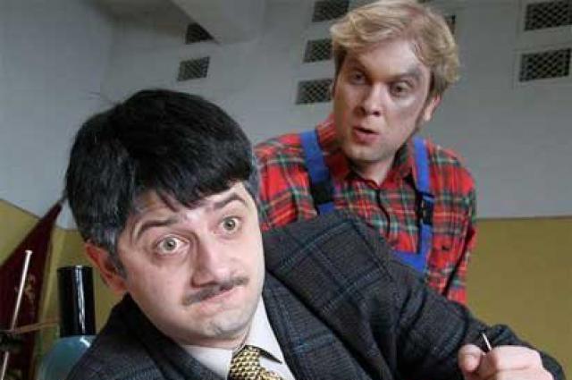 Комедийные актёры Михаил Галустян и Сергей Светлаков сегодня наиболее востребованные российские актёры
