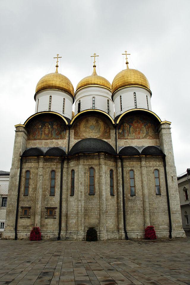 Успенский собор. Вид с восточной стороны (на алтарные апсиды)