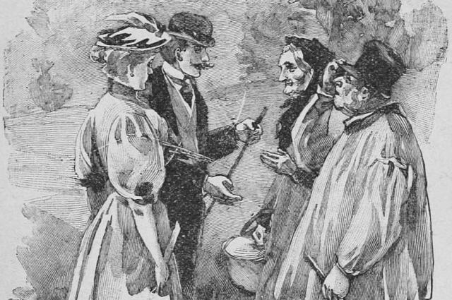 Иллюстрация к книге Милый друг Мопассана