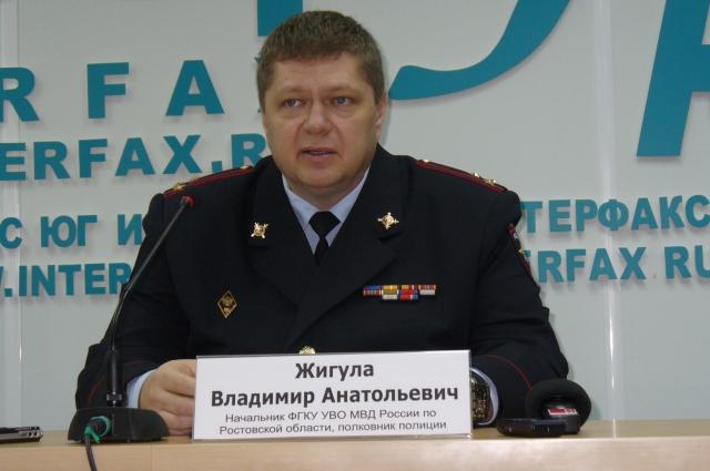 Полковник полиции Владимир Жигула более 20 лет на службе по защите частной и государственной собственности.