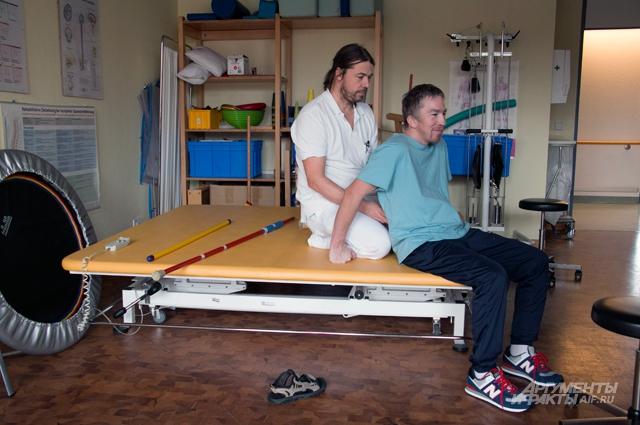 Массаж – обязательная процедура для пациентов, получивших травму.