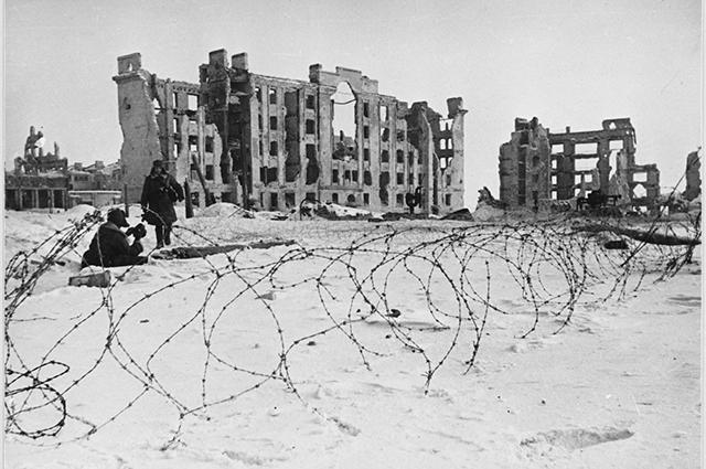 Более 40 тыс. сталинградцев погибли под бомбёжками