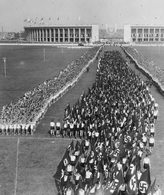 Олимпийские игры в Берлине 1936 г.
