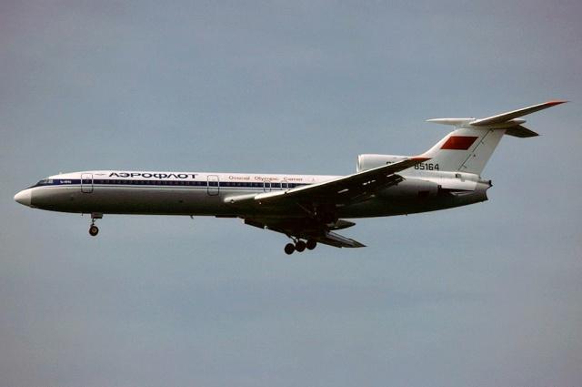 Аналогичный разбившемуся Ту-154.