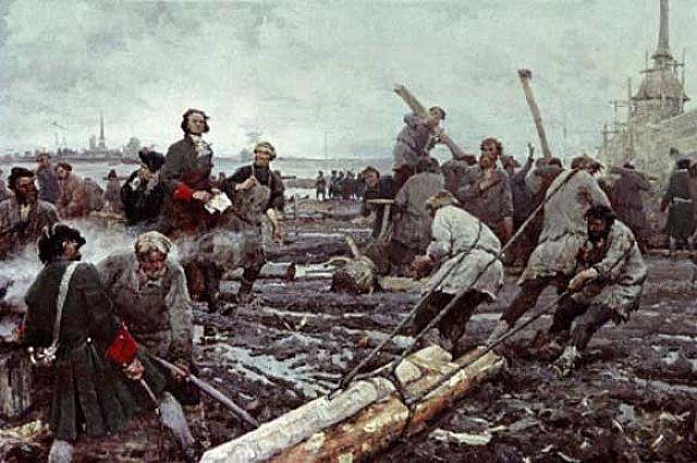 В начале XVIII века рабочие трудились по 16 часов в сутки.