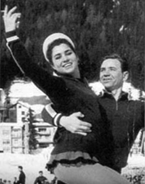 Людмила Пахомова и Виктор Рыжкин.