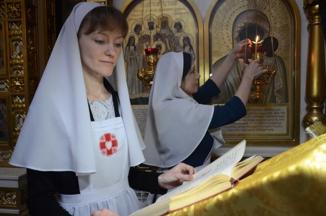 Сестры милосердия трудятся в паллиативном отделении Оренбургской городской больницы им. Пирогова.