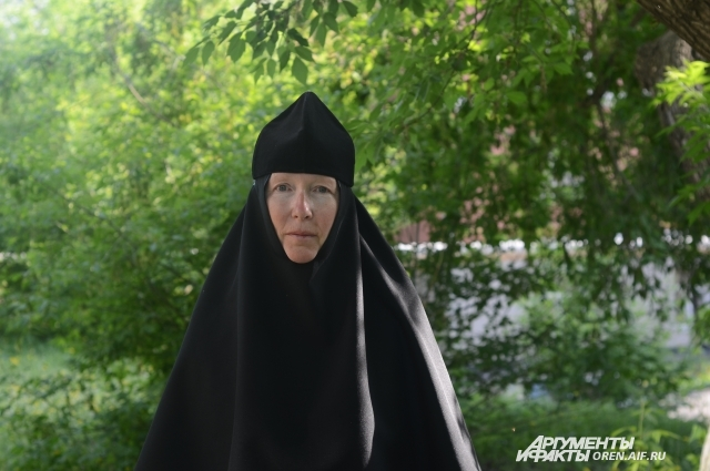 Будущая игумения монастыря монахиня Иоанна