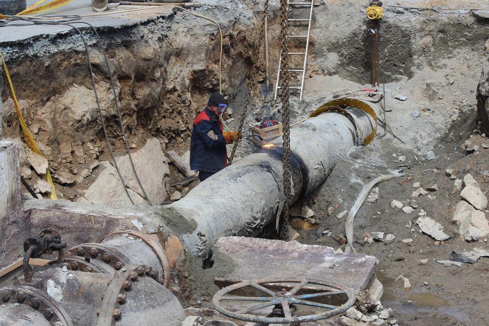 Ремонт газопроводов в Екатеринбурге, 2018 год