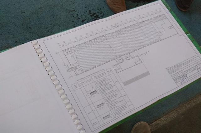 Проект реконструкции манежа АлтГТУ.