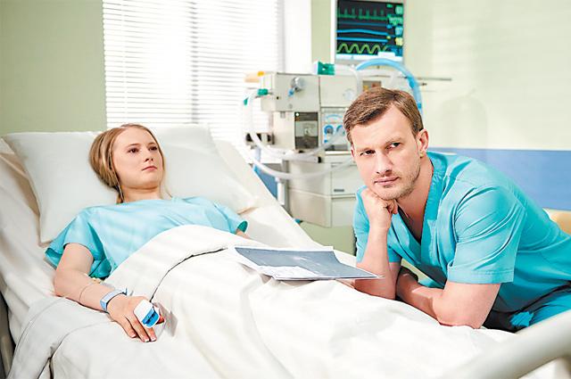 Петра Рыкова в ноябре зрители увидят в премьере сериала в роли женского доктора.