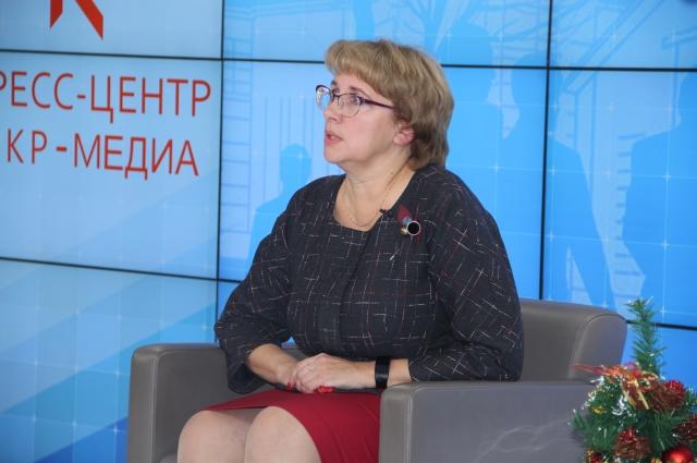 Встреча Ольги Ступичёвой с омскими журналистами.
