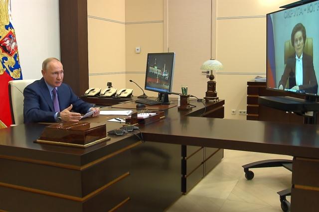 Встреча с губернатором Югры Натальей Комаровой