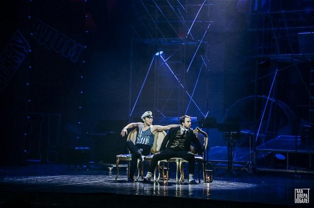 Главный дуэт сложился как пазл: Сарыал Афанасьев и Павел Необутов органично дополняют друг друга.