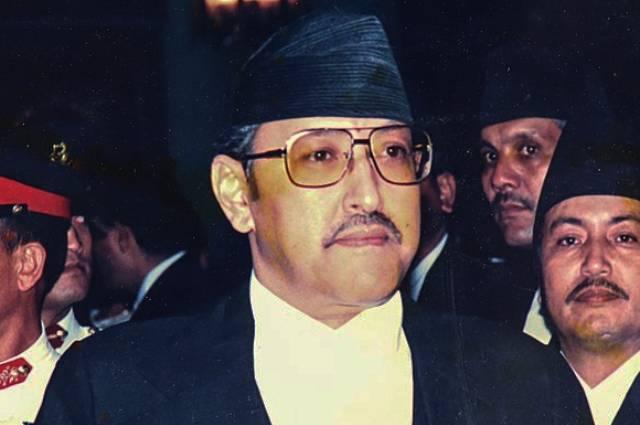 Король Бирендра Бир Бикрам Шах.