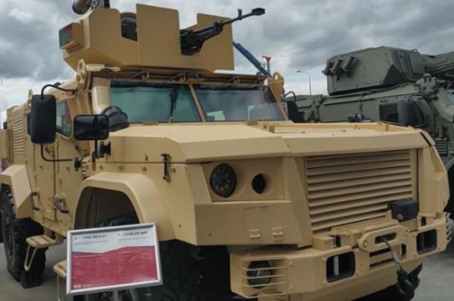 Бронеавтомобиль для спецназа
