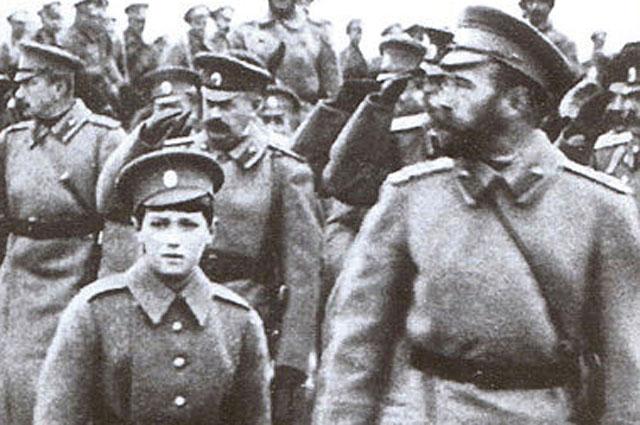 Отречение от власти Николая II не вызвало серьезного противодействия в Петрозаводске