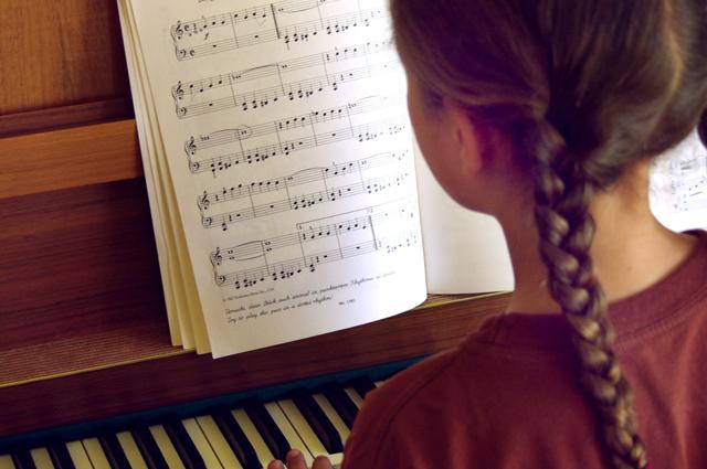 Фортепиано, музыка