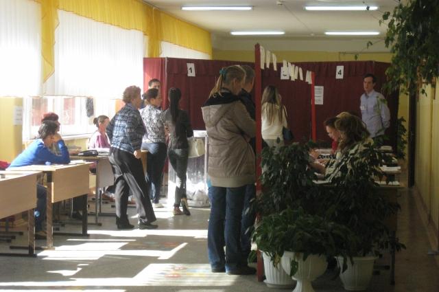 выборы, избирательный участок, Чебоксары