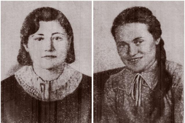 Марии и Надежде было 18 лет, когда они были убиты солдатами вермахта.