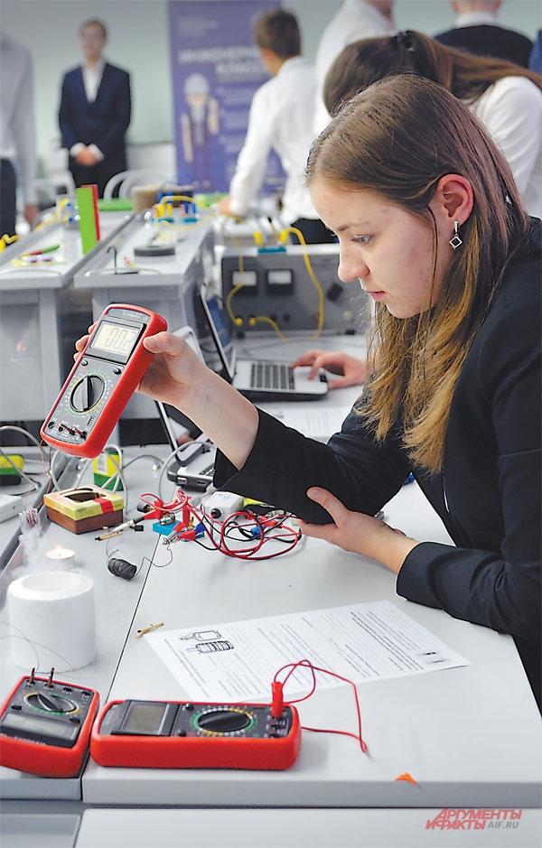 Девочки тоже мечтают об инженерии.