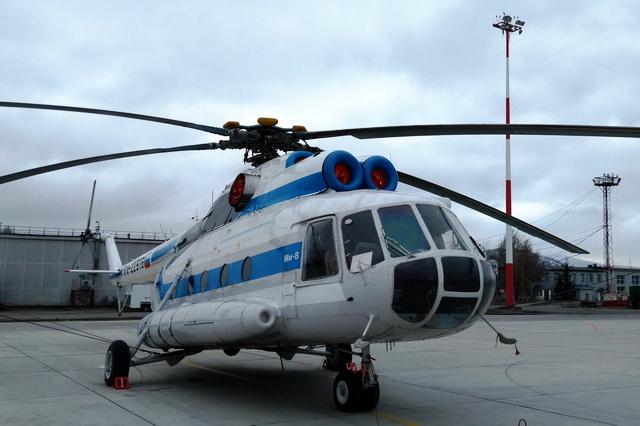 Вертолёт Ми-8Т
