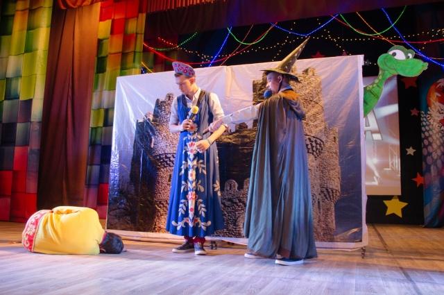 «Бора-Бора» показала сказку про принцессу.