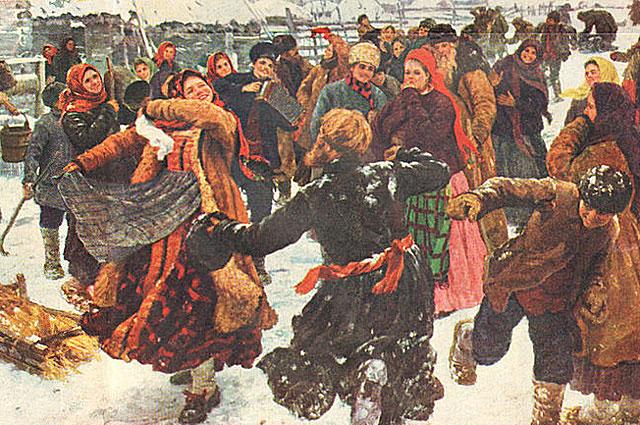 Ф. В. Сычков. Пляска. 1911