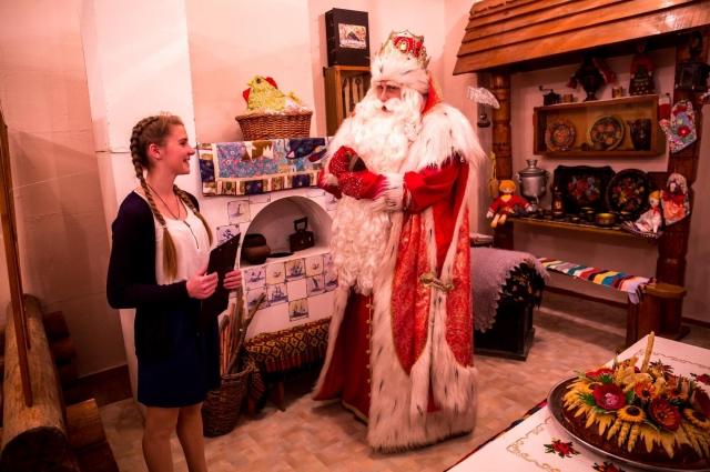 Зимний Волшебник постарается исполнить желания петербуржцев.