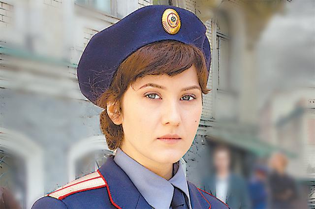 Яна Гладких в сериале «Отличница».